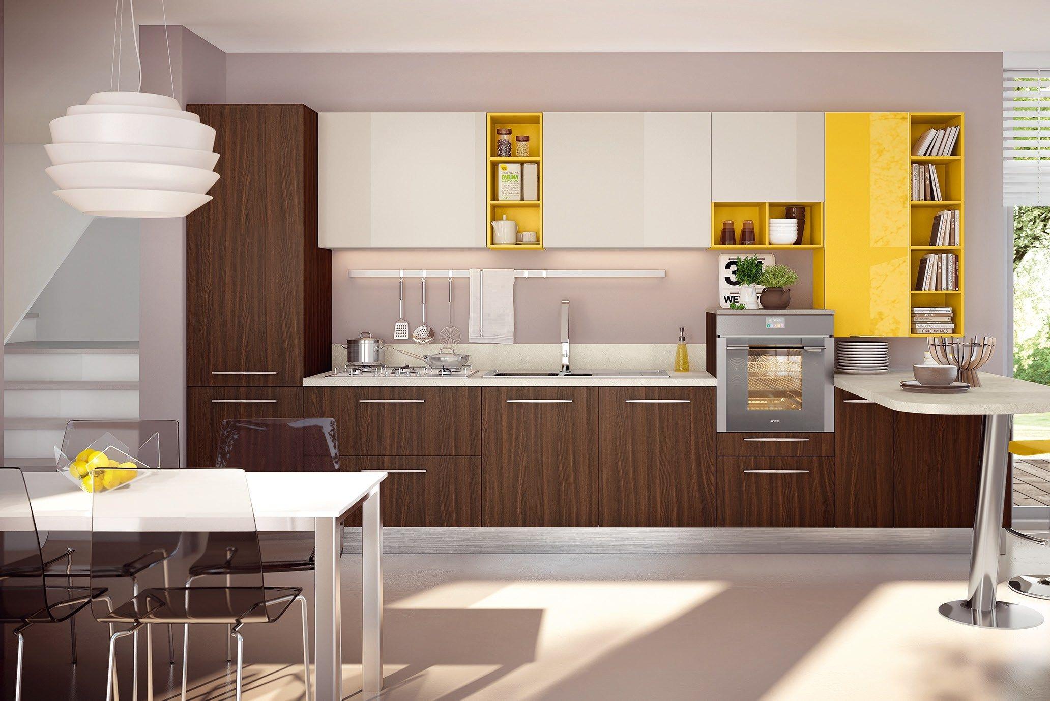 Cucina Componibile Laccata : Swing cucina laccata by cucine lube