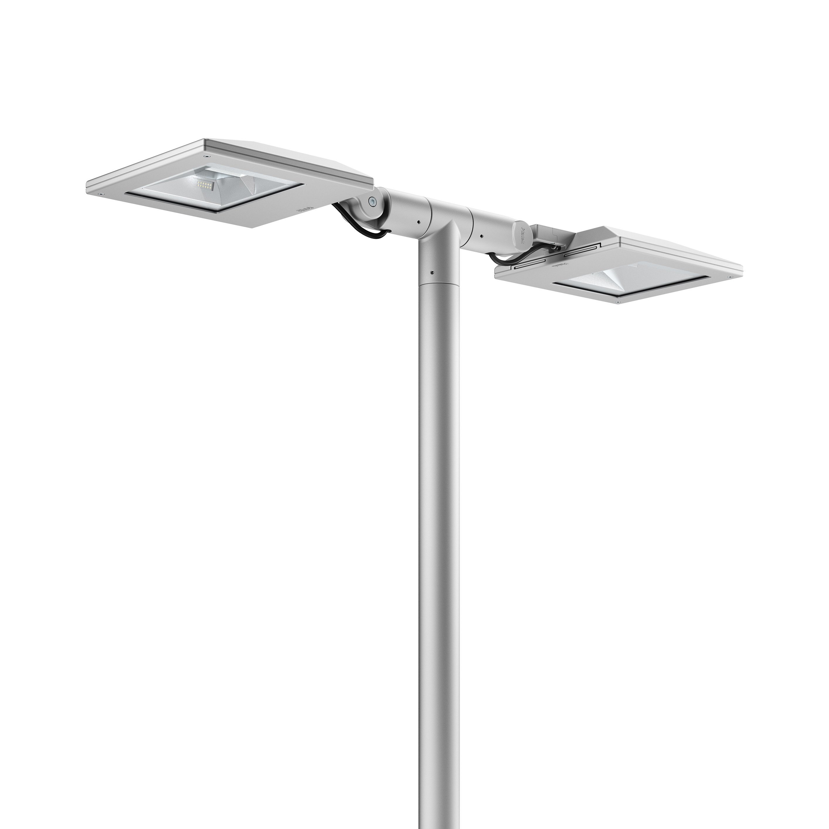 iluminacao led jardins:Poste de jardim LED de alumínio TARSIUS Testa Palo by Platek design