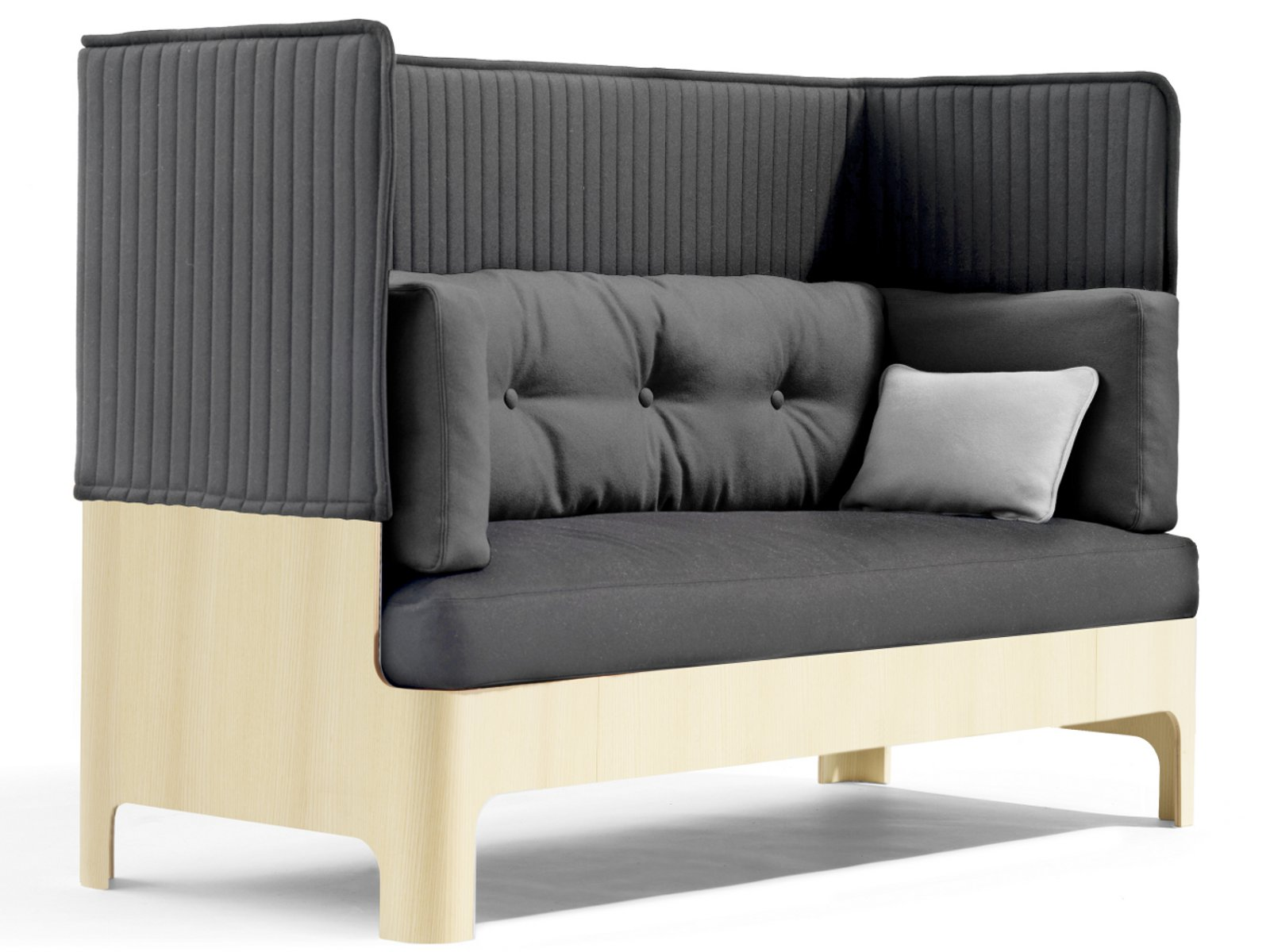 koja canap avec dossier haut by bl station design. Black Bedroom Furniture Sets. Home Design Ideas