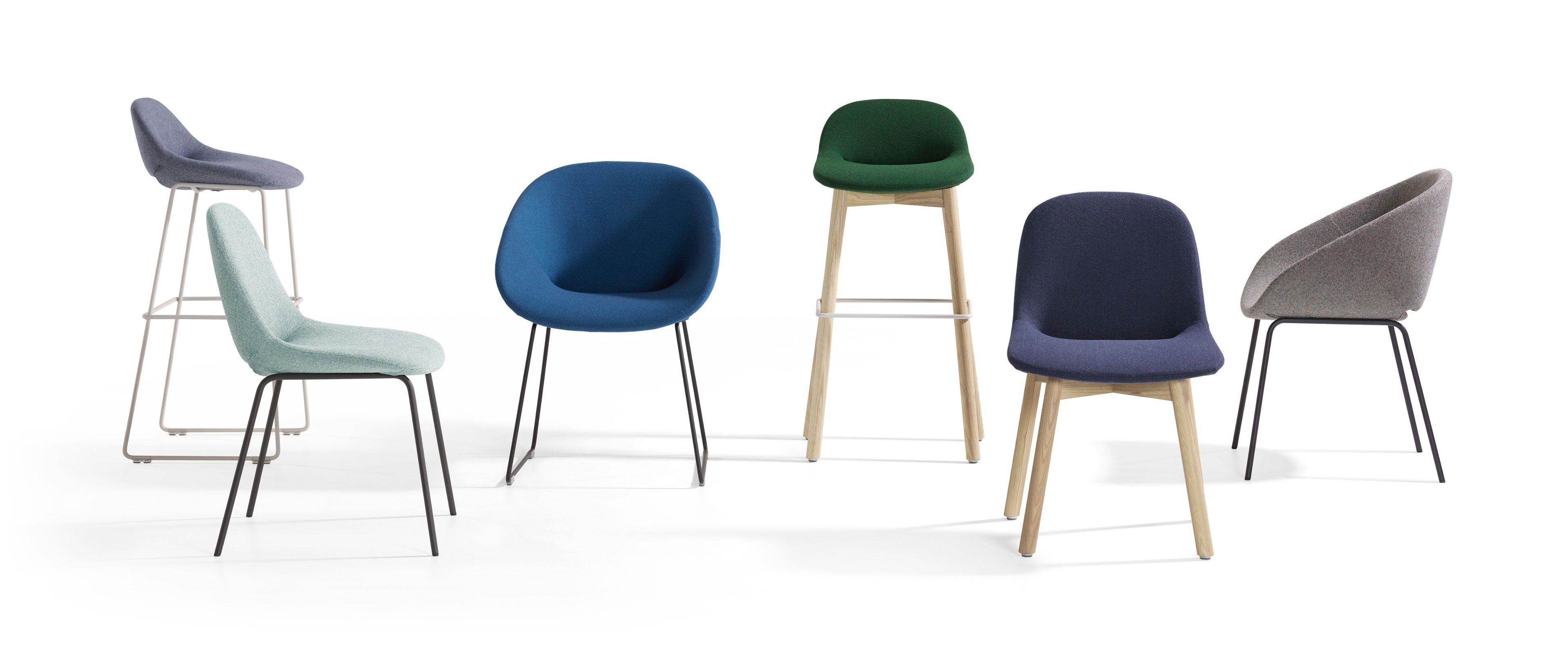 Beso sedia alta by artifort design khodi feiz for Sedia alta