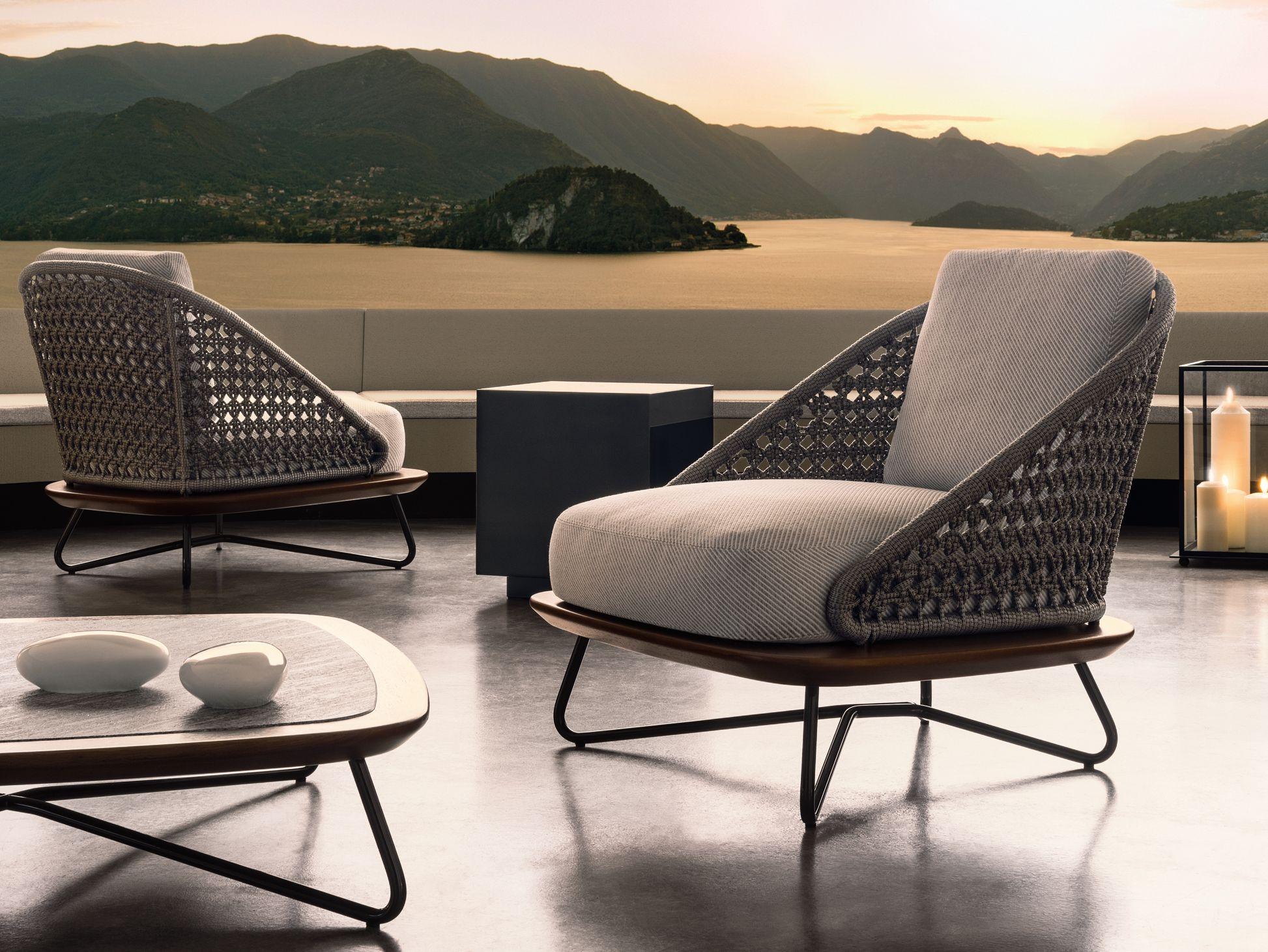 Rivera Armchair By Minotti Design Rodolfo Dordoni