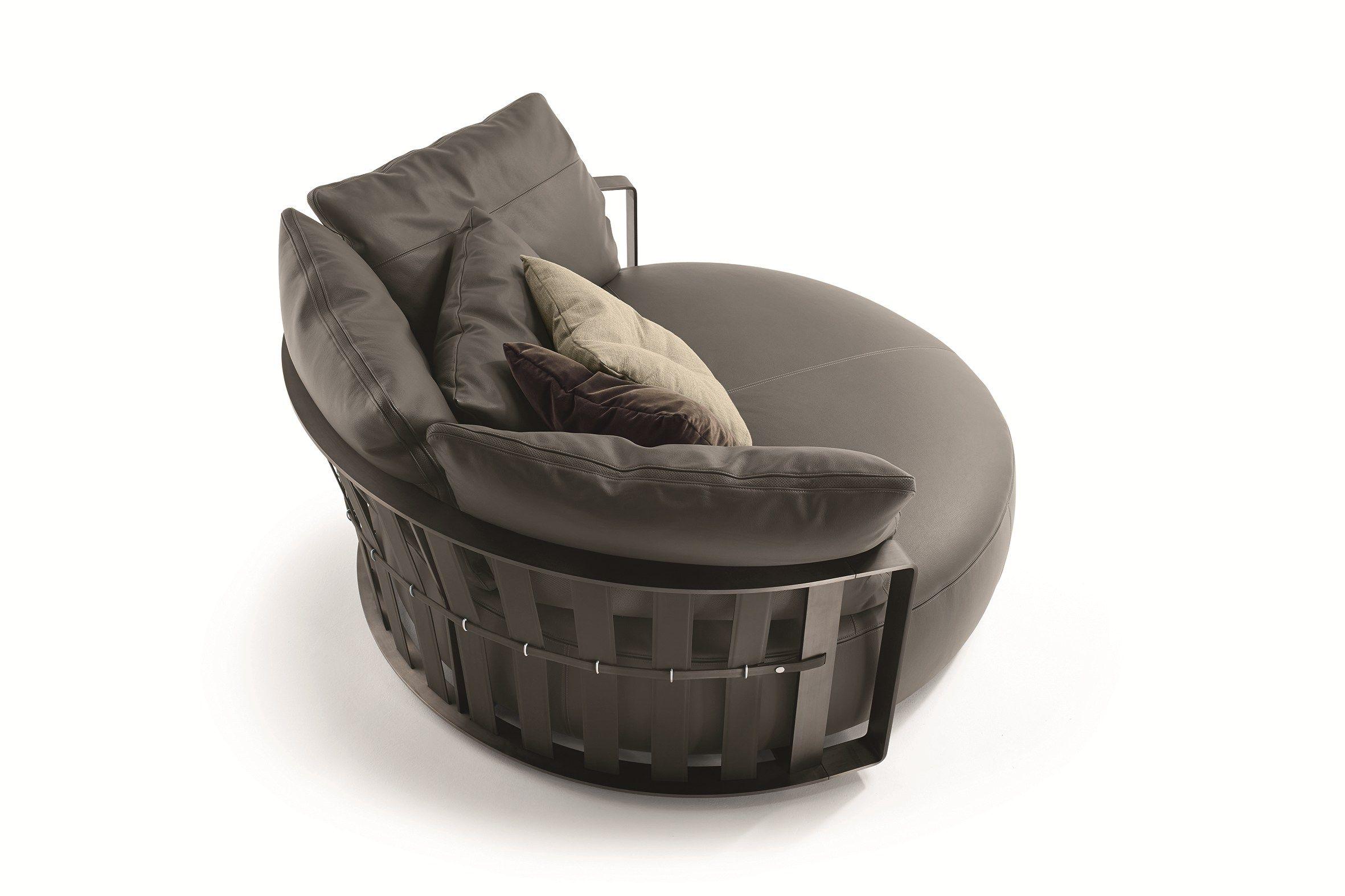 curved sofa scarlett by poltrona frau design jeanmarie massaud -