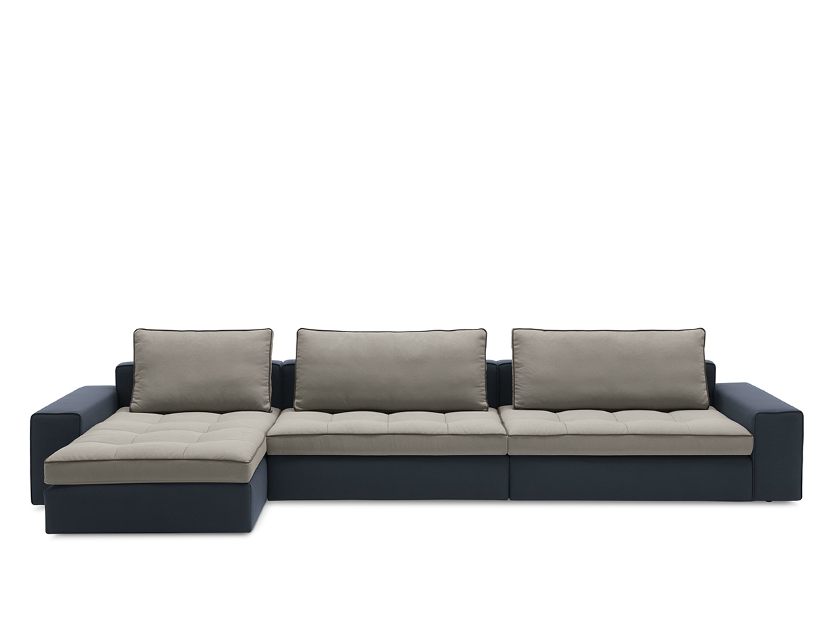 Fabric Sofa With Removable Cover Lounge Mix 01 By Calligaris Design Stefano Cavazzana