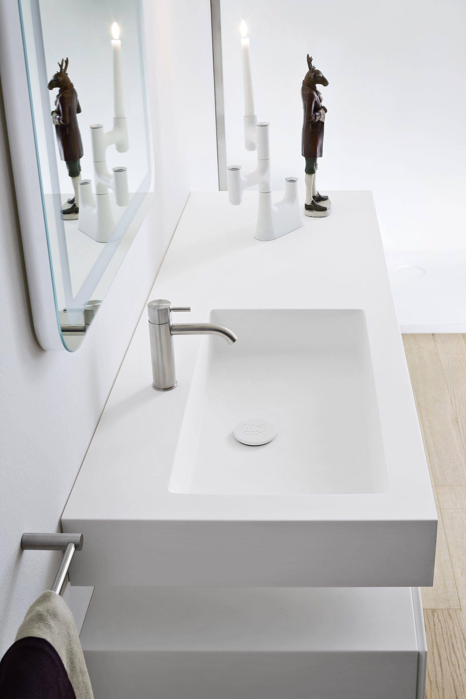 Bancada de lavatório de Corian® MOODE Bancada de lavatório de  #796852 2000 3000
