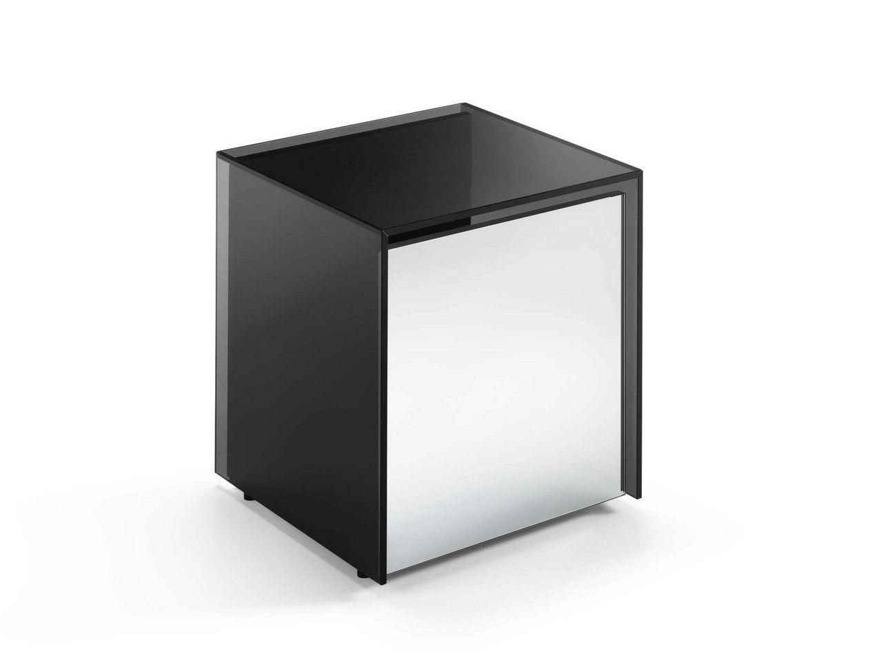 Tavolino Comodino In Vetro Collezione Gotham By T D