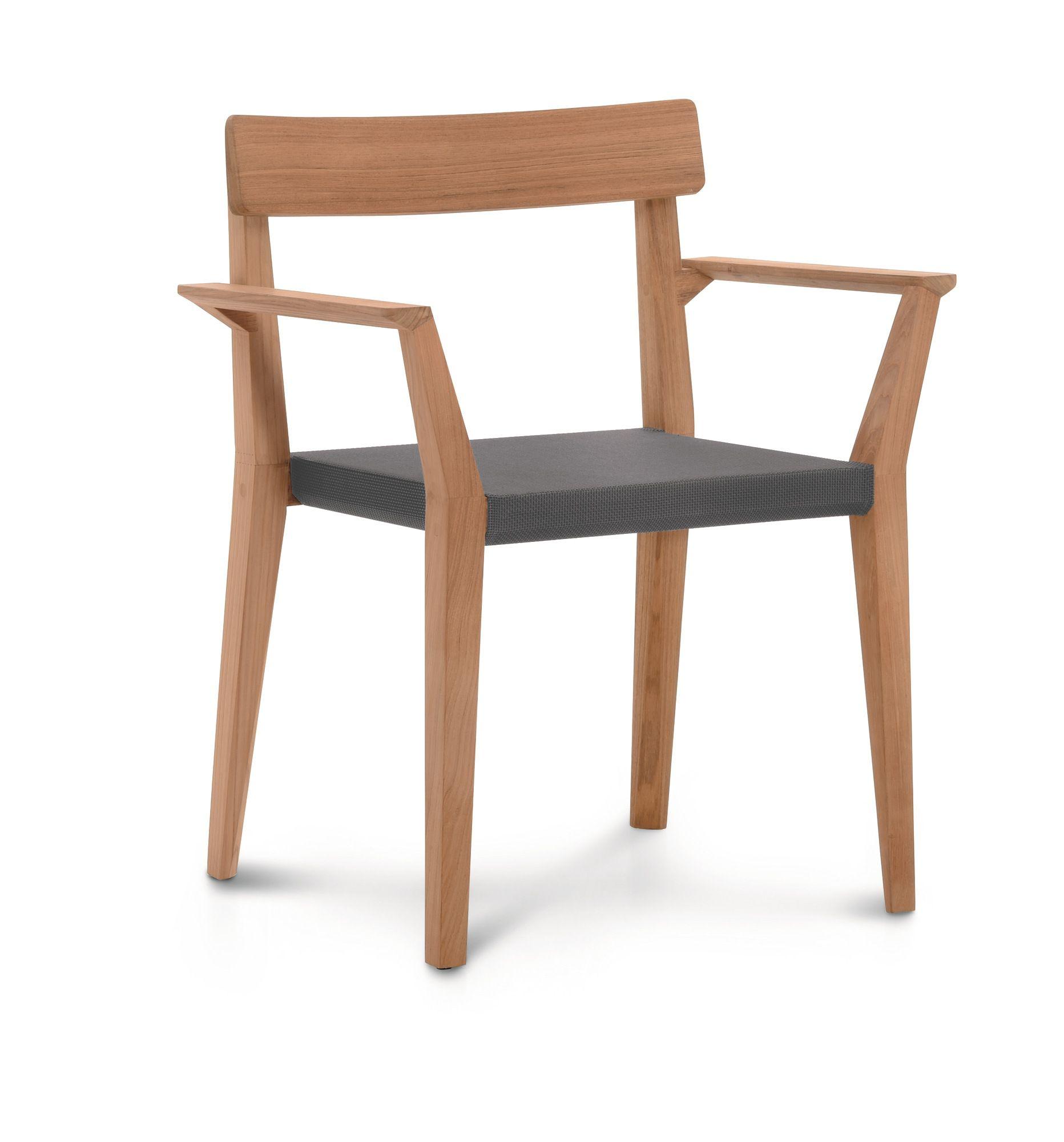 teka stuhl mit armlehnen by roda design gordon guillaumier. Black Bedroom Furniture Sets. Home Design Ideas