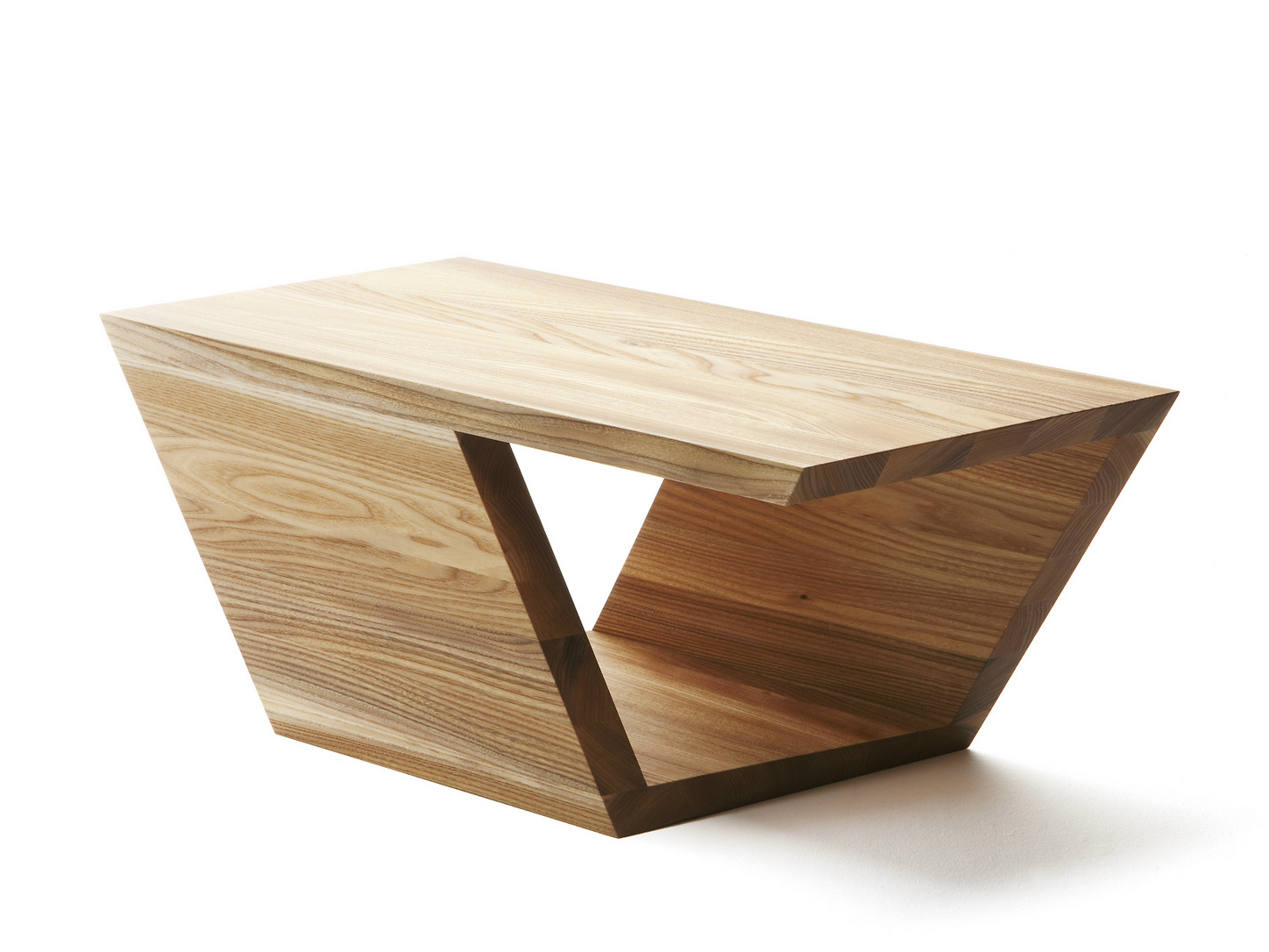 Low Rectangular Elm Coffee Table Guangdong Study By Nikari Design Gdut University