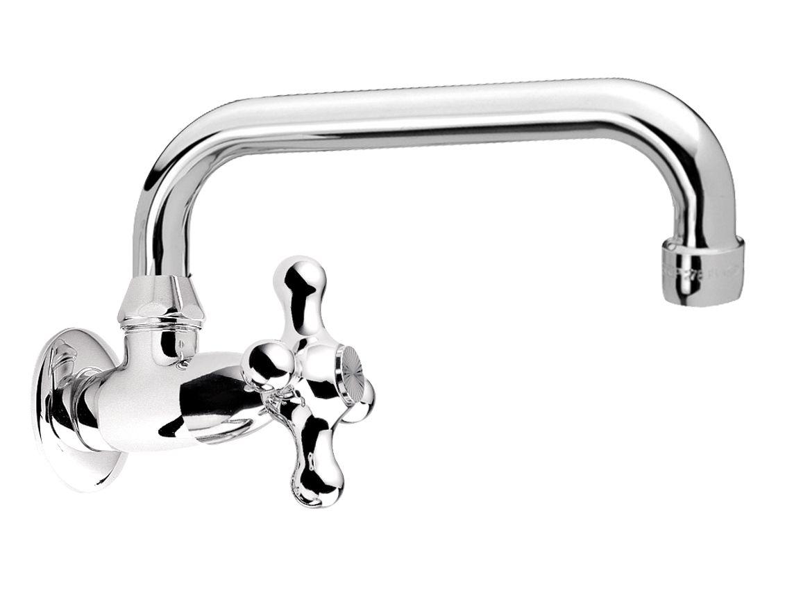 Revival robinet pour lavabo mural by daniel rubinetterie for Robinet mural pour lavabo