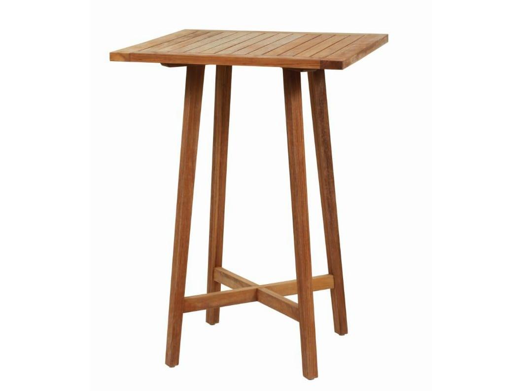 Gipsy tavolo alto by il giardino di legno - Il giardino di legno ...