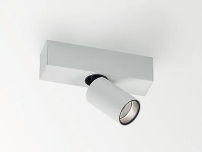 Faretto a LED a soffitto con braccio flessibile SPY  Faretto a ...