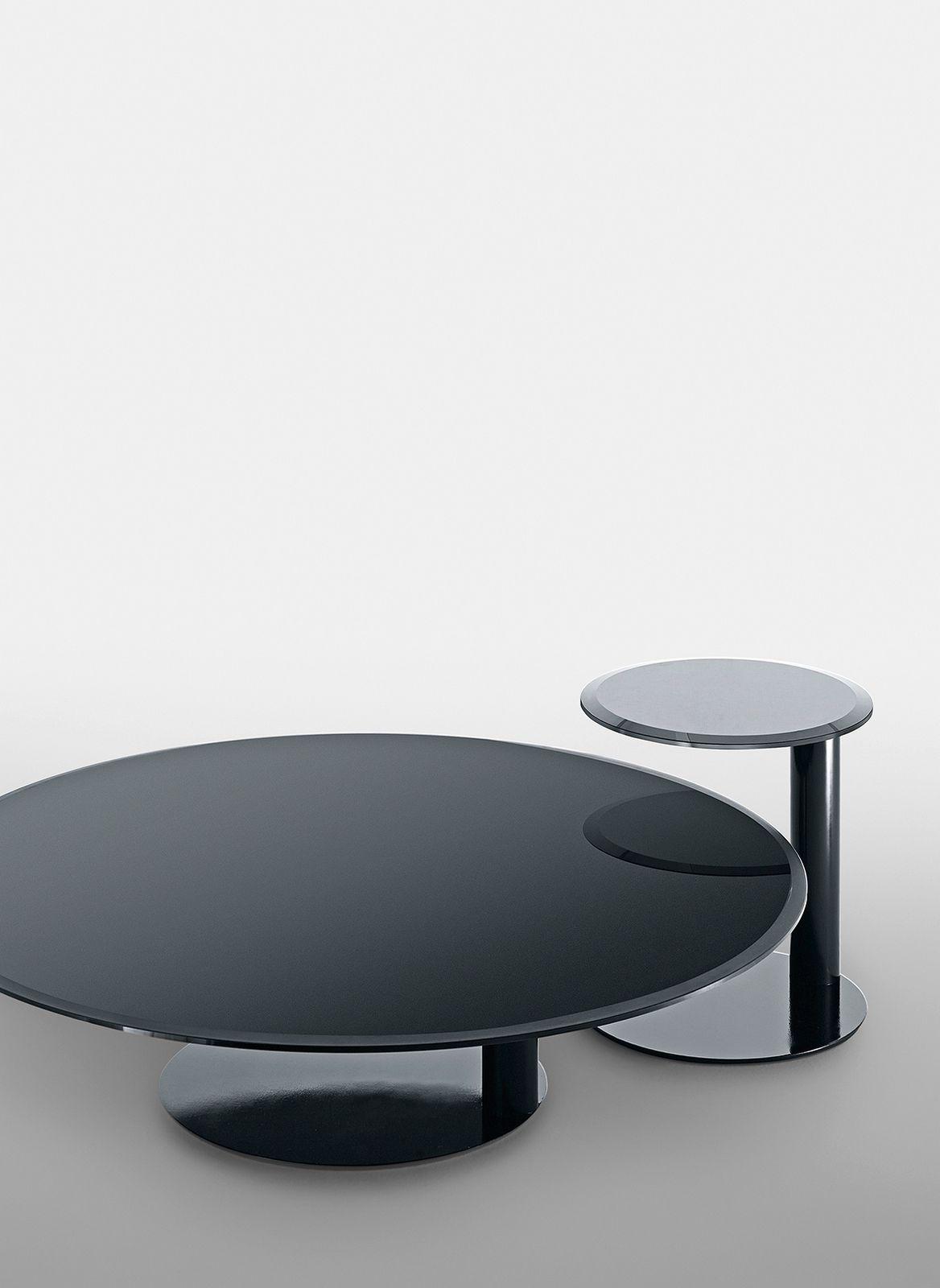 lacquered round coffee table oto mini oto collection by gallotti radice design gabriele. Black Bedroom Furniture Sets. Home Design Ideas