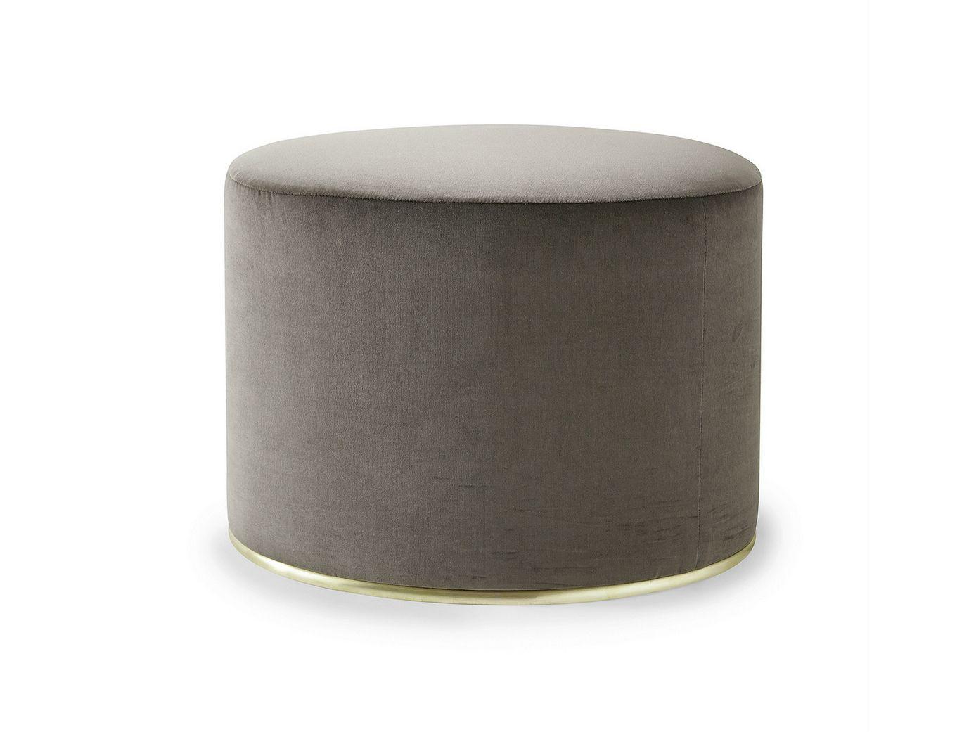 upholstered velvet pouf lou by gallotti radice design studio g r. Black Bedroom Furniture Sets. Home Design Ideas