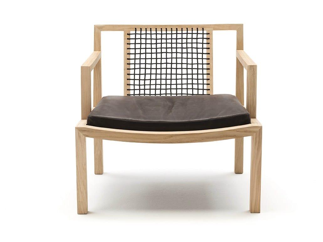 Solid wood armchair GRAY by Living Divani design Piero Lissoni