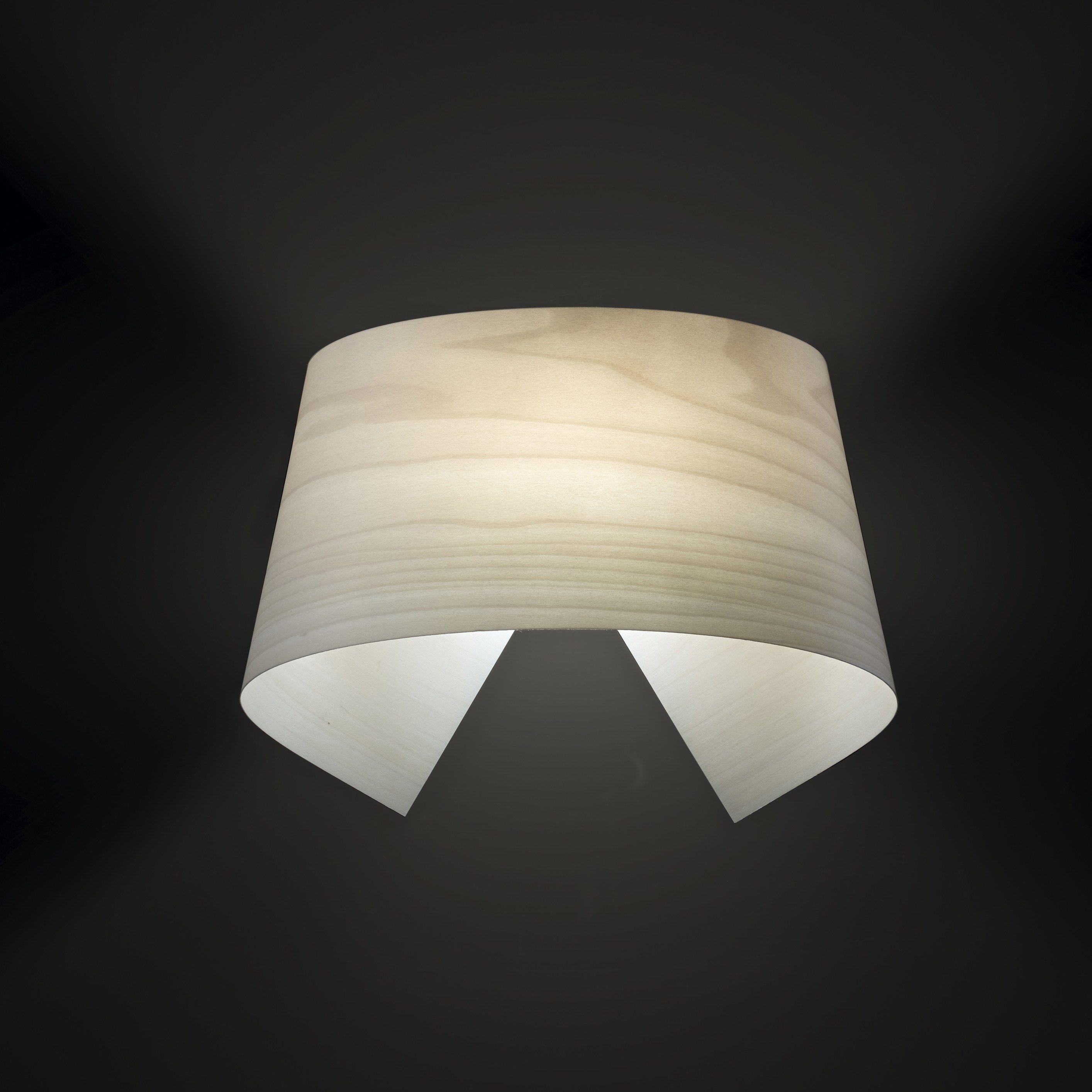 indirect light handmade led wall light hi collar a by lzf. Black Bedroom Furniture Sets. Home Design Ideas