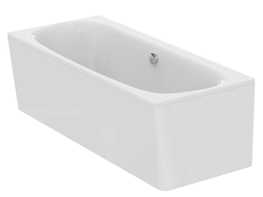 Vasca da bagno rettangolare in ceramica dea e3062 by - Ideal standard vasche da bagno ...