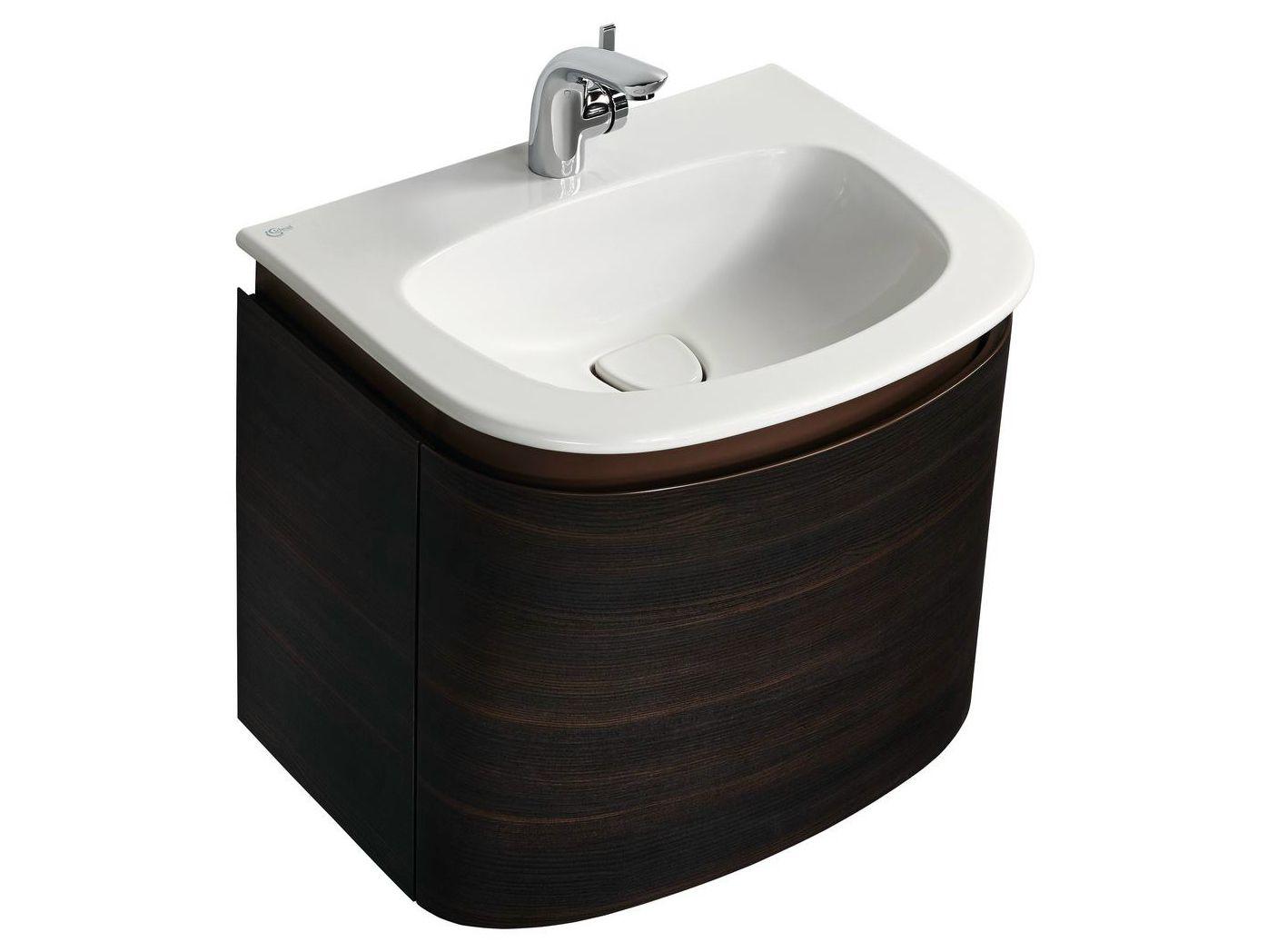 mobile lavabo singolo sospeso dea t7850 by ideal standard italia. Black Bedroom Furniture Sets. Home Design Ideas