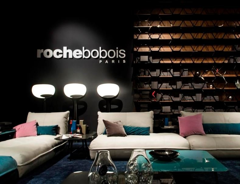 Led ceramic floor lamp nonette by roche bobois design for Roche bobois milano