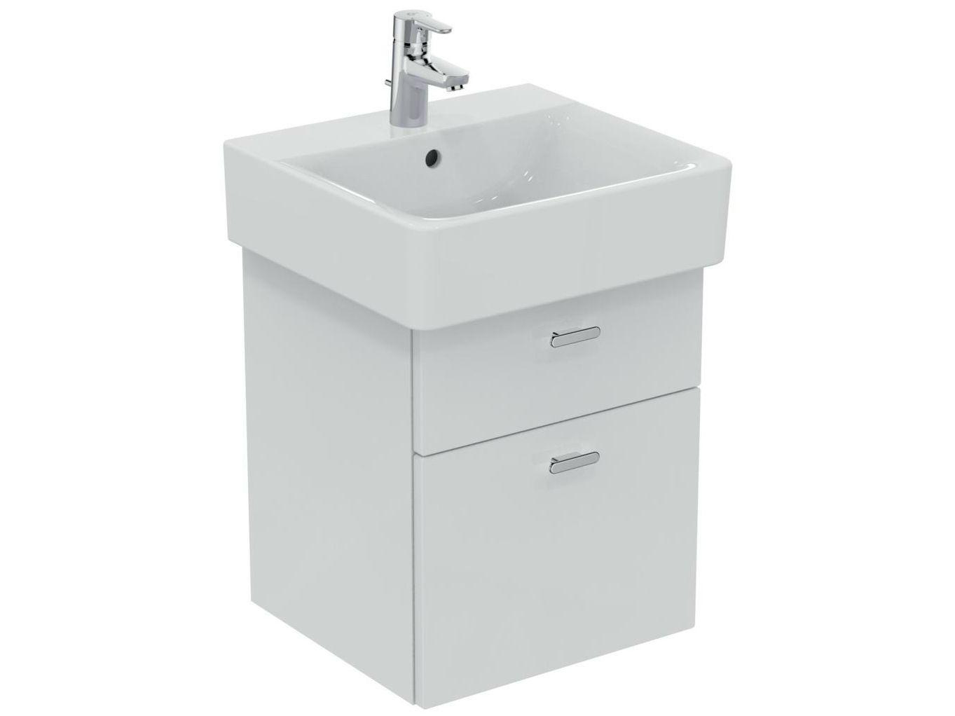 einzel h ngender waschtischunterschrank mit schubladen connect 55 cm c1835 kollektion connect. Black Bedroom Furniture Sets. Home Design Ideas