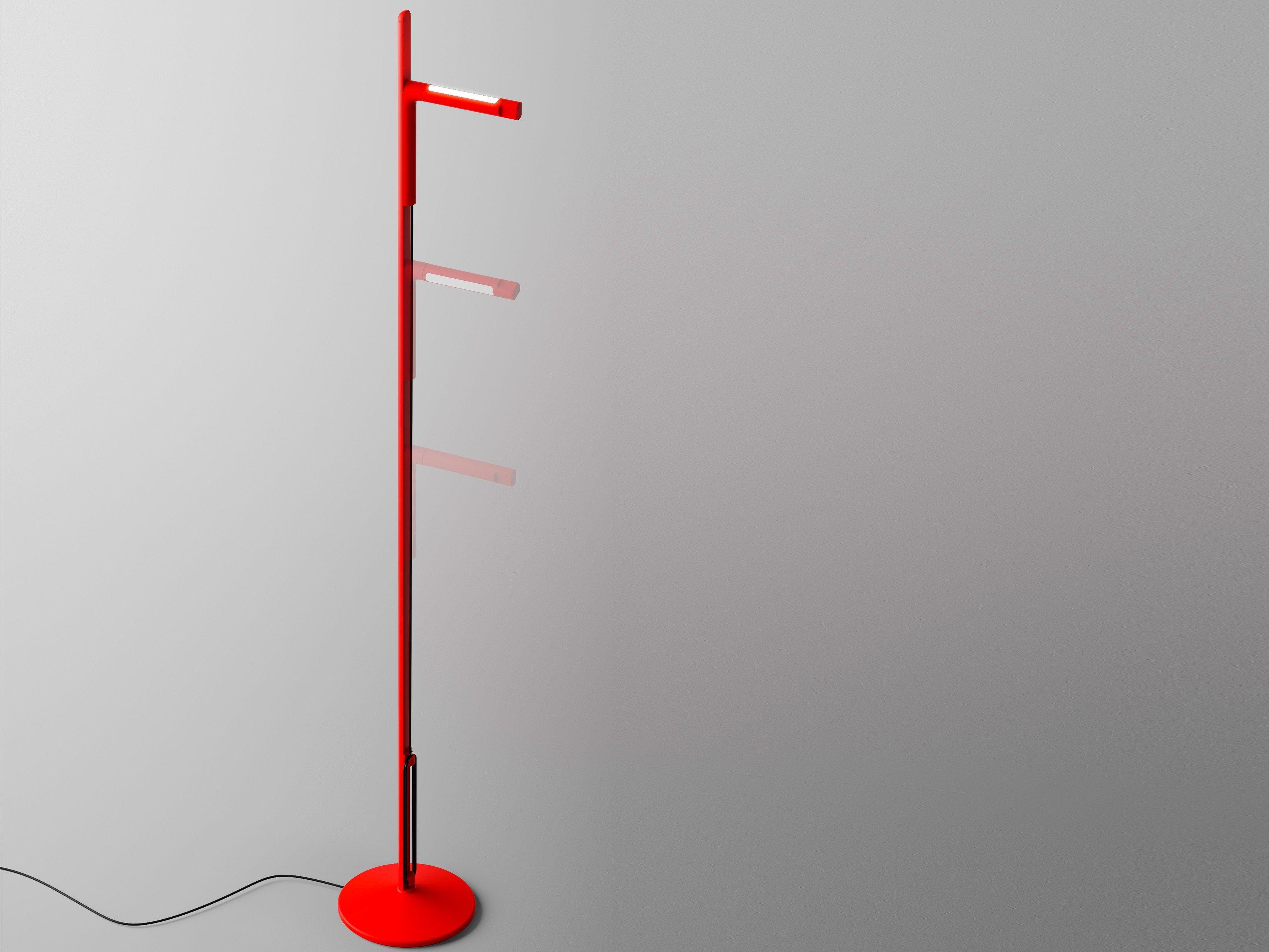 Siptel lampada da terra by fontanaarte design giulio iacchetti - Fontana arte corsico ...