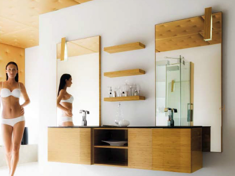 Applique pour salle de bain led collection maori by cerasa for Badezimmer wandleuchten