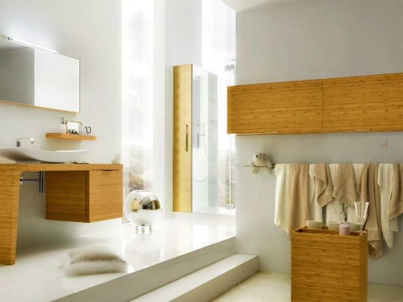 Mobili Bagno Bamboo: Composizione mobili di design per bagno urban ...
