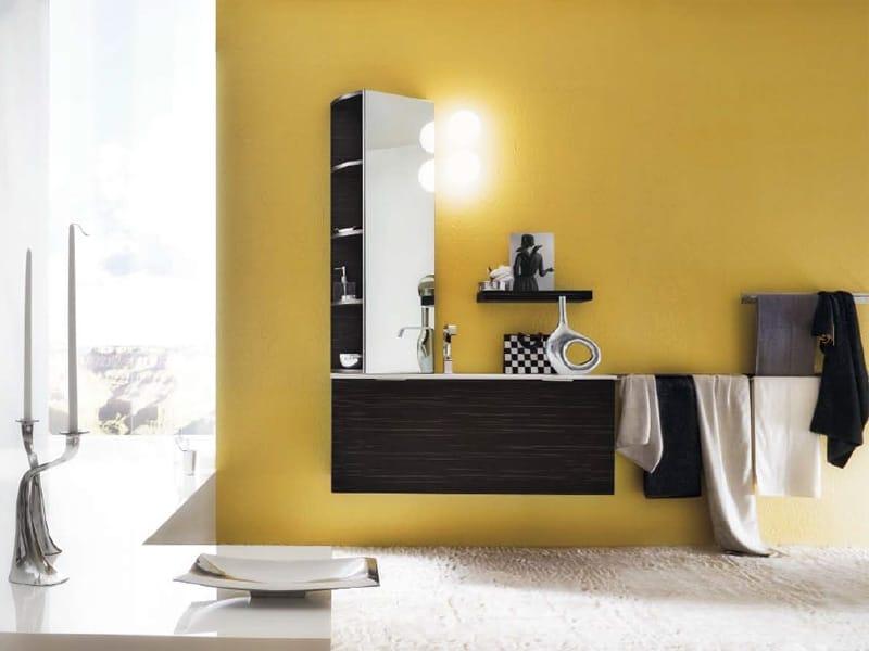Maori specchio bagno by cerasa design stefano spessotto for Specchio bagno 3d