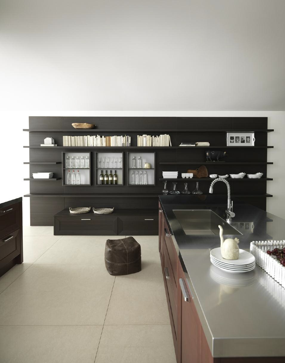 Solid wood fitted kitchen noa composition 1 by cesar for Wooden fitted kitchen