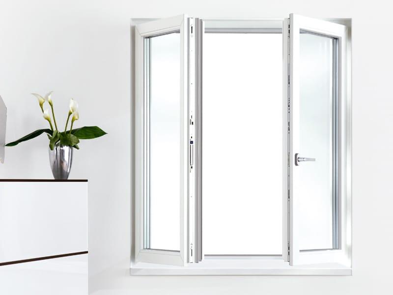 Porta finestra a battente in pvc geneo by rehau - Finestre in pvc romania ...