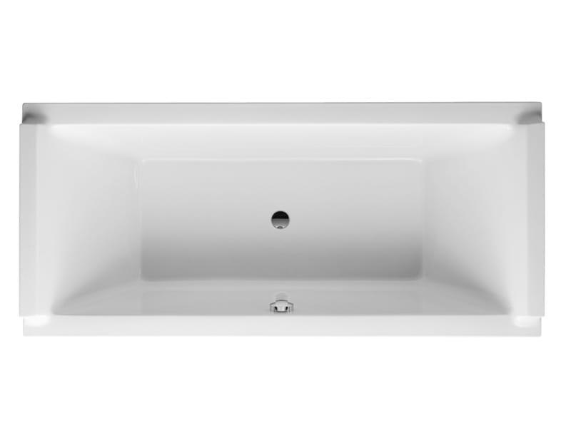 vasca da bagno da incasso rettangolare collezione starck. Black Bedroom Furniture Sets. Home Design Ideas