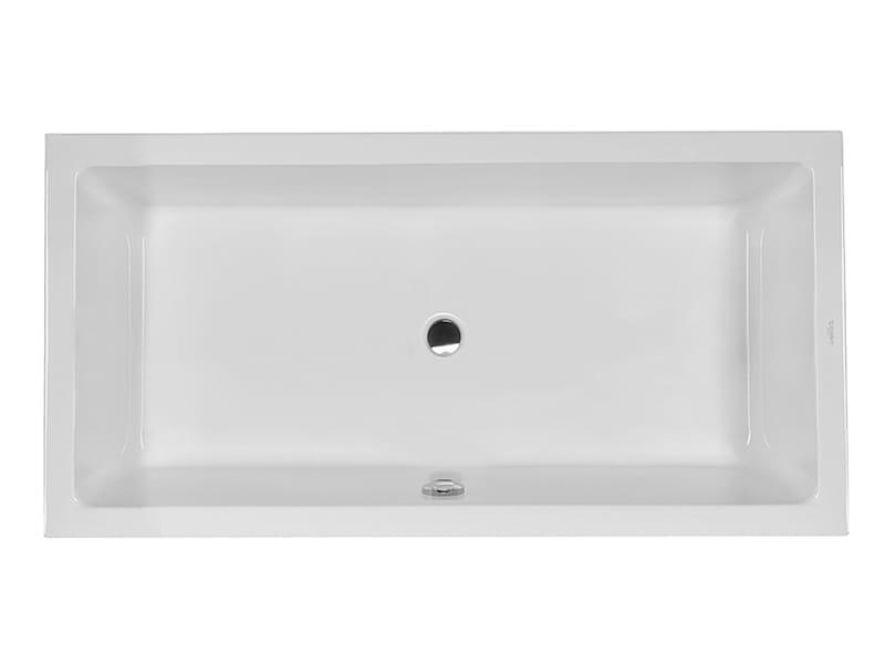 starck 1 einbau badewanne by duravit design philippe starck. Black Bedroom Furniture Sets. Home Design Ideas