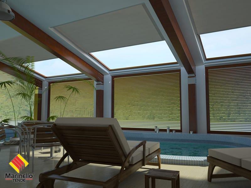 Tenda per finestre da tetto oscurante como zip by for Finestre a tetto