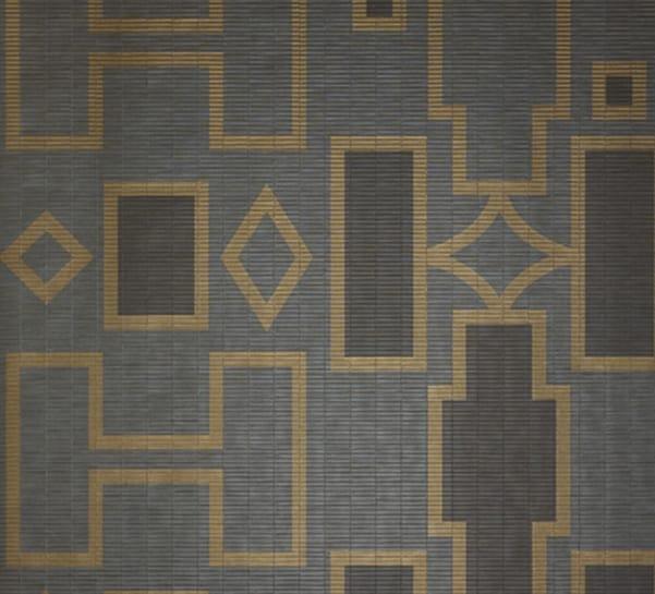 papier peint motifs g om triques en tissu de vinyle c. Black Bedroom Furniture Sets. Home Design Ideas