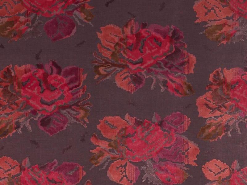 tissu jacquard en velours motif floral karabagh by dedar. Black Bedroom Furniture Sets. Home Design Ideas