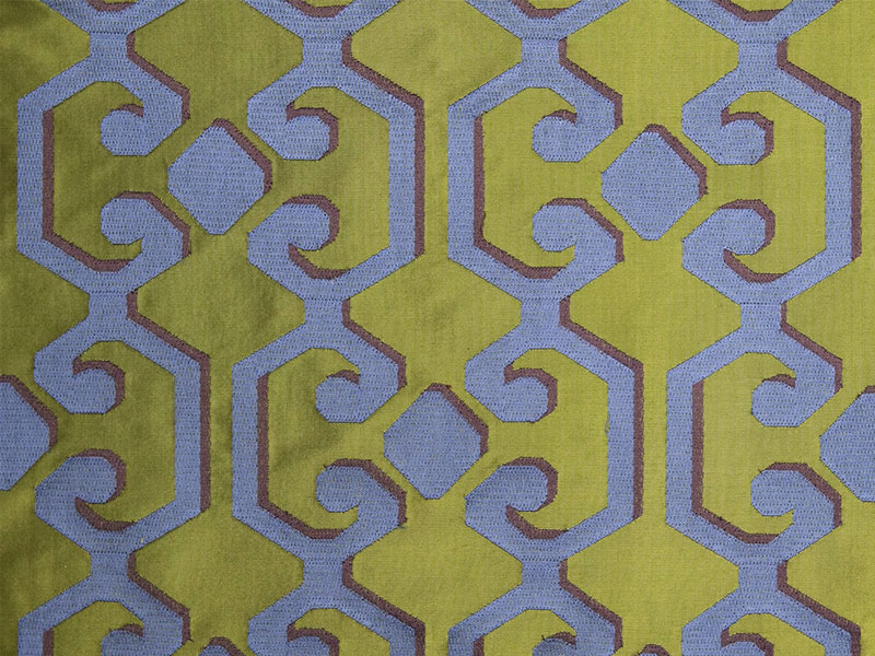 tissu en velours motifs graphiques pour rideaux flourish. Black Bedroom Furniture Sets. Home Design Ideas