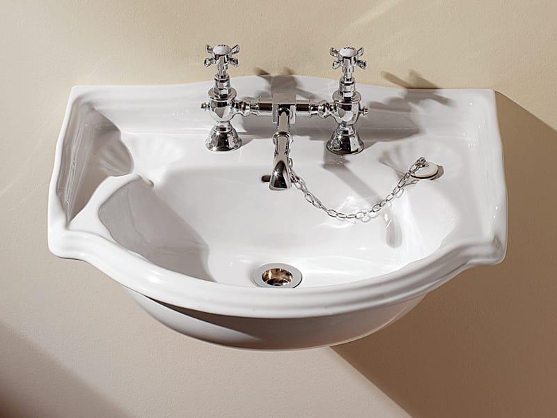 lavabo suspendu en porcelaine collection oxford by devon devon. Black Bedroom Furniture Sets. Home Design Ideas