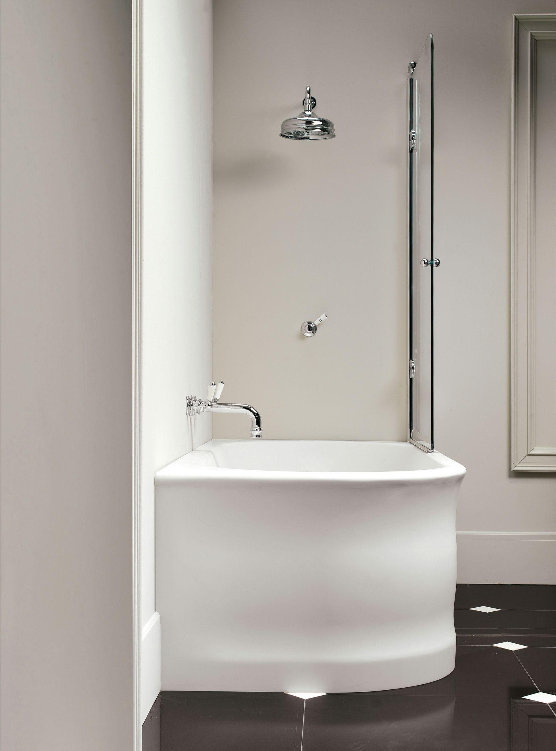 Corner Tub Shower Combo