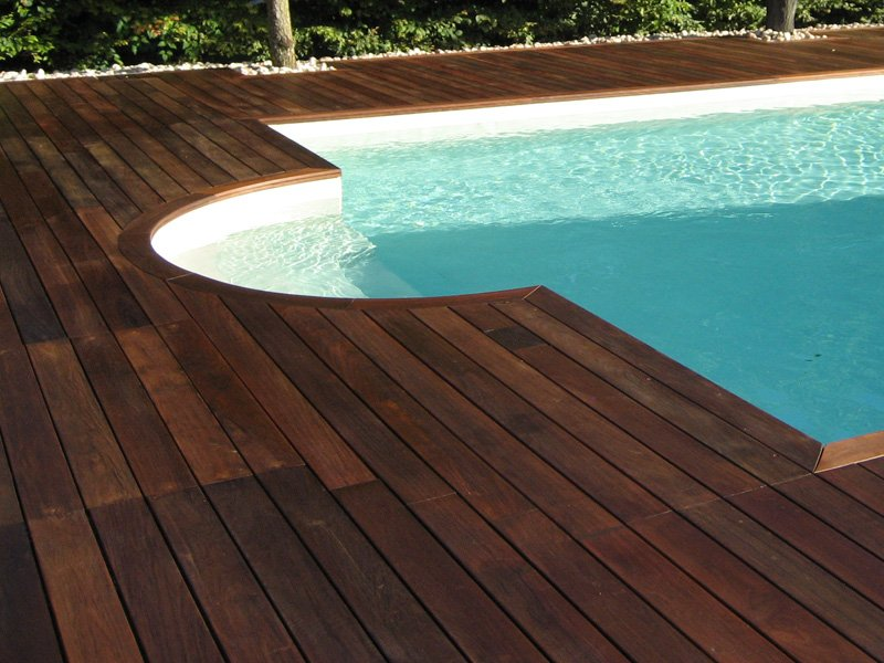 Decking In Wood Pvc And Concrete Ipe By Ravaioli Legnami