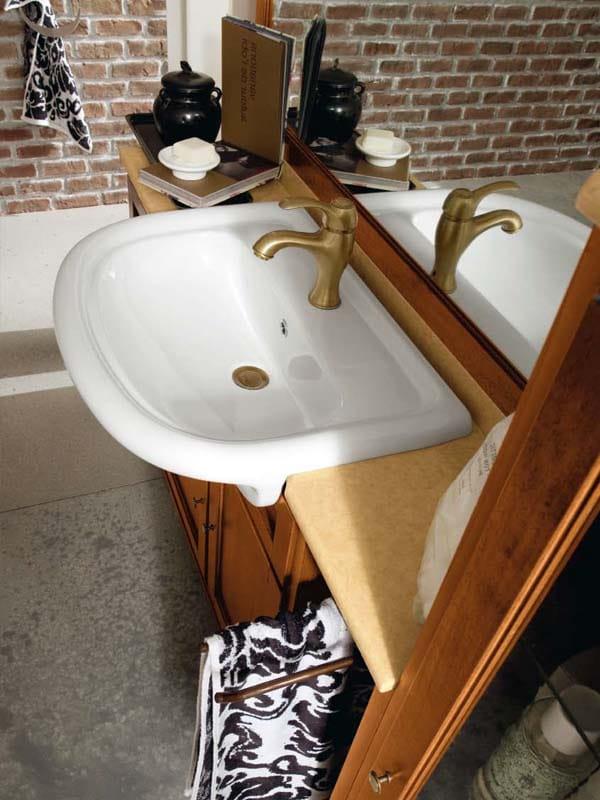 York 5 mueble bajo lavabo by cerasa for Mueble bajo lavabo carrefour