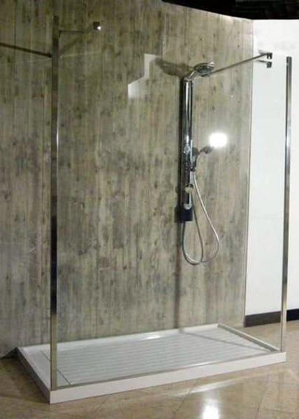 Piatto doccia in pietraluce su misura universal by technova - Piatto doccia piccole dimensioni ...