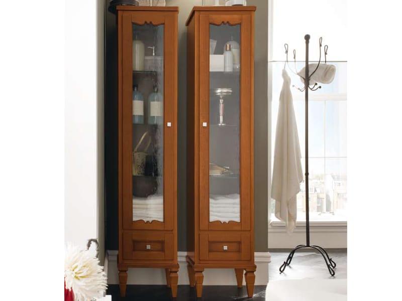 Mobile bagno in legno york 2 mobile bagno a colonna for Mobile bagno colonna