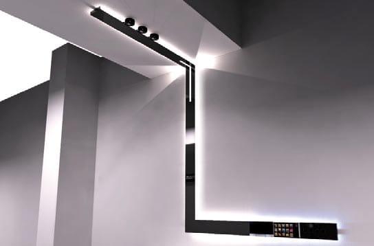 SEGMENT | Modular ceiling lamp By LUCIFERO'S:,Lighting