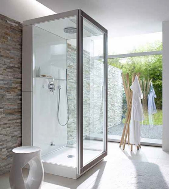 Diseno Baños De Vapor:Steam Shower Cabin