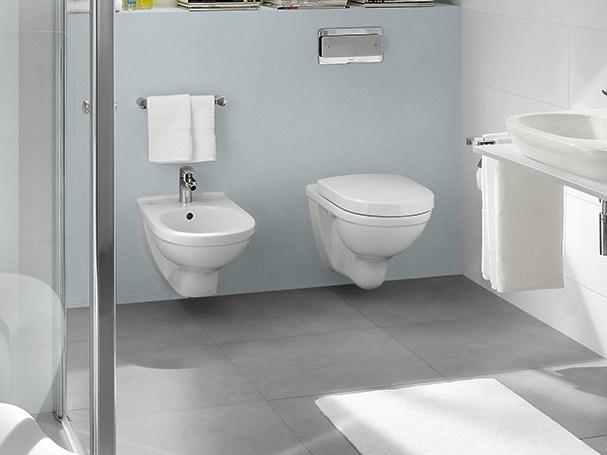 o novo wall hung toilet by villeroy boch. Black Bedroom Furniture Sets. Home Design Ideas