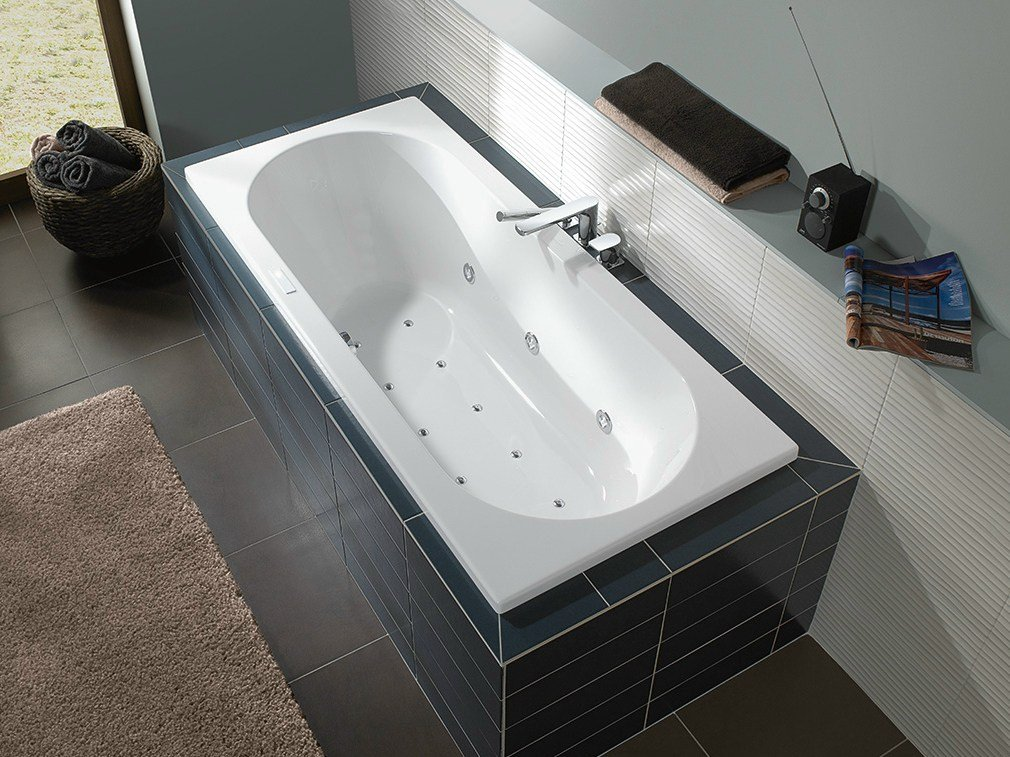o novo built in bathtub by villeroy boch. Black Bedroom Furniture Sets. Home Design Ideas
