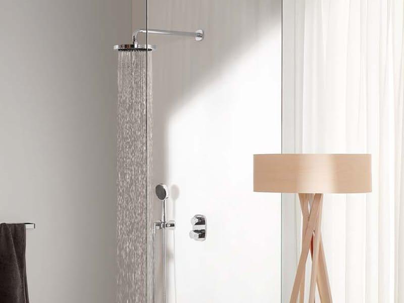 t te de douche mural avec bras gentle collection gentle by. Black Bedroom Furniture Sets. Home Design Ideas