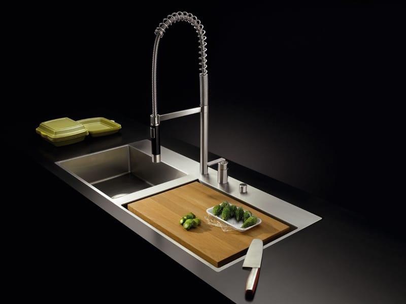 Flush Kitchen Sink : bowl flush-mounted sink 38 521 000 Sink - Dornbracht