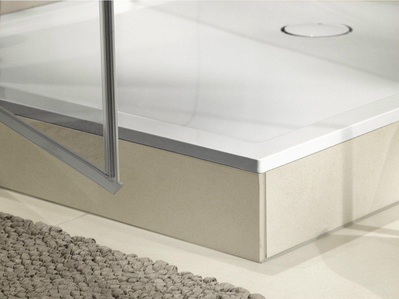 Futurion flat receveur de douche by villeroy boch - Installer un bac a douche ...