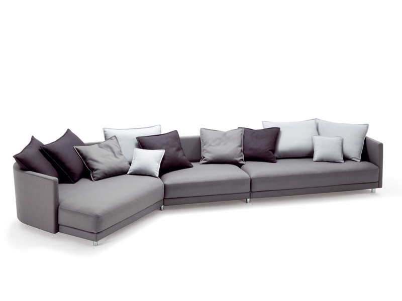 ecksofa aus stoff kollektion onda by rolf benz design christian werner. Black Bedroom Furniture Sets. Home Design Ideas