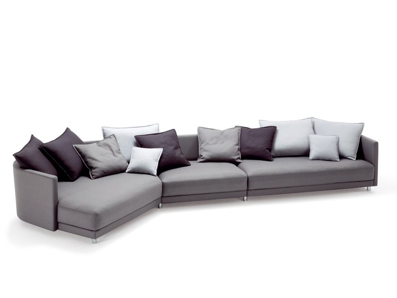 Ecksofa aus stoff kollektion onda by rolf benz design for Rolf benz katalog