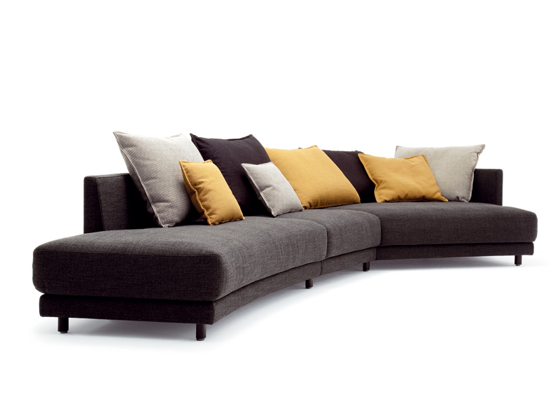 corner sectional fabric sofa onda sofa rolf benz. Black Bedroom Furniture Sets. Home Design Ideas